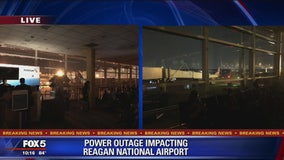 Flights on hold at Reagan National Airport due to power outage