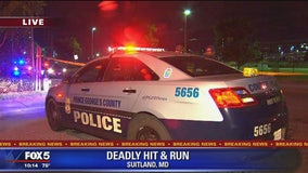 Man killed in Suitland hit-and-run