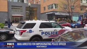 Police: Man arrested for impersonating officer after he tried to handcuff actual cop inside DC Whole Foods store