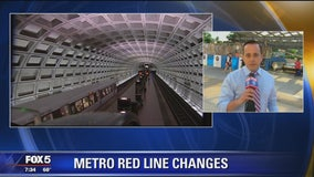 Major Metro Red Line service disruptions, closures starting July 10