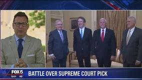 Supreme Court nominee Brett Kavanaugh begins making his case to senators