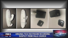 Virginia Tech restroom recording suspect from Falls Church