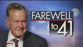 Farewell to 41: George HW Bush honored with funeral at National Cathedral