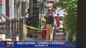 Man's defense: 'I stabbed a werewolf'
