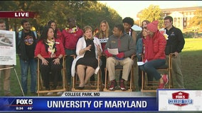Homecoming Week | The University of Maryland | FOX 5 College Tour