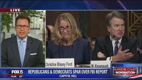 GOP and Democrats spar over FBI report on Kavanaugh