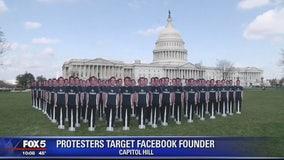 Mark Zuckerberg cutouts take over US Capitol lawn