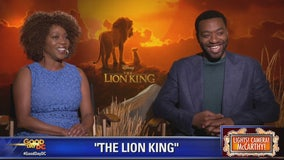 Alfre Woodard, Chiwetel Ejiofor in 'The Lion King'