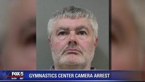Man arrested for secretly recording inside gymnastics club bathroom