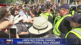 4 California men face riot charges in Charlottesville