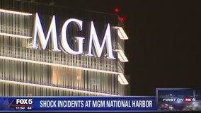 Another shock incident at MGM National Harbor