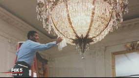 Black History Month: Meet the man who kept the White House chandeliers and windows shining bright