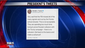 Trump lashes out on Russia probe on Twitter