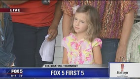Thurmont | Zip Trip: The Six Flags America FOX 5 First 5 -- Meet Hannah