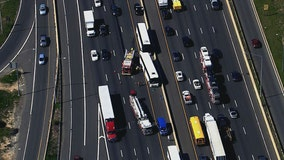 Beltway crash involving 3 buses in Montgomery County snarls traffic