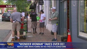 'Wonder Woman' sequel shooting in Georgetown