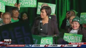 Muriel Bowser secures 2nd term as mayor of DC