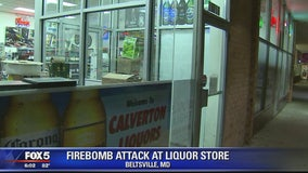 Mother of suspect in Molotov cocktail attack visits liquor store to apologize