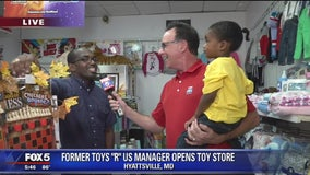 """Former Toys """"R"""" Us Manager opens toy store of his own"""