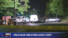 Spike in violence in Prince George's County with 7 homicides since Saturday