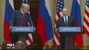 Vladimir Putin says he wanted Donald Trump to win in 2016, but didn't interfere