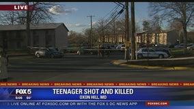 Teen killed in Oxon Hill