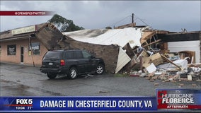 1 dead in Richmond area after apparent tornado from remnants of Florence