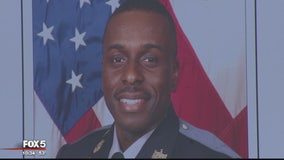 Vigil held for fallen Prince George's County Police Sgt. Mujahid Ramzziddin