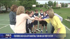 Local moms lead basketball team to victory