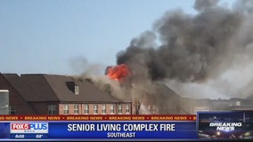 Fire at senior living apartment building confined, officials say