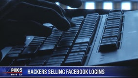 Hackers selling Facebook logins on dark web