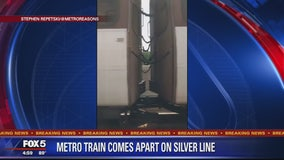 Metro investigating after Silver Line train cars come apart Saturday