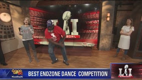 End zone dance: Fans show out their moves