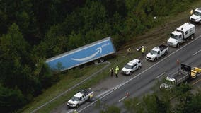 Major multi-vehicle crash on Interstate 95 in Stafford County