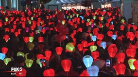 LLS 'Light the Night Walks' corporate chair tells touching story of battle with cancer