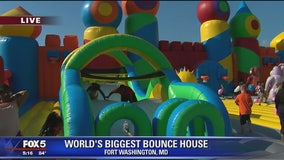 World's biggest bounce house comes to Prince George's County