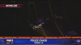 Suspect in custody after police pursuit ends near Tysons Corner mall