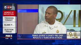 Prince George's County fire chief recalls experience responding to 9/11 attack at Pentagon