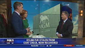 Gov't worker accused of stealing $15K fur from MGM casino coat check