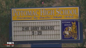 Lockdown at Potomac High School lifted after student with gun taken into custody, police say