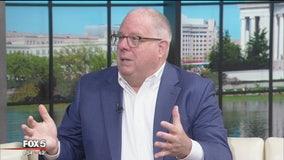 Fox 5 News on the Hill: Maryland Gov. Larry Hogan talks bi-partisan politics, and accomplishments in office