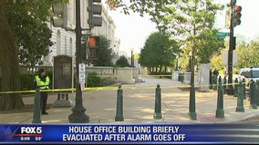 Capitol Police say fire alarm prompted Cannon Building evacuation