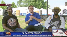 The Temptations will be performing at A Capitol Fourth