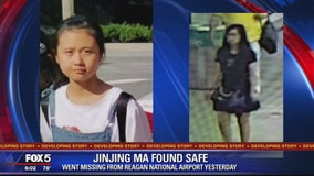 12-year-old girl from China who went missing from Reagan National Airport found safe in New York