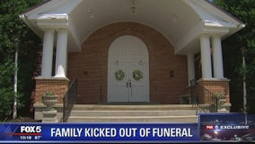 Priest who kicked out family from funeral placed on administrative leave