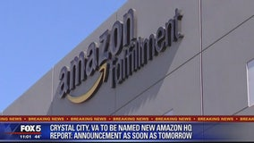 Report: Amazon chooses Northern Virginia, NYC for new headquarters
