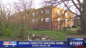 Prince George's County woman says she was attacked while walking home