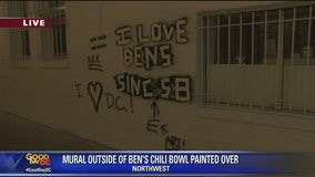Ben's Chili Bowl removes Cosby mural