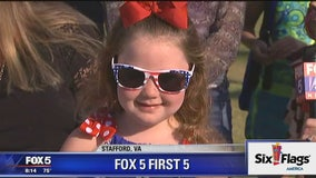 Six Flags America FOX 5 First 5: Stafford