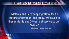 President Trump, first lady mourn fallen Secret Service agent
